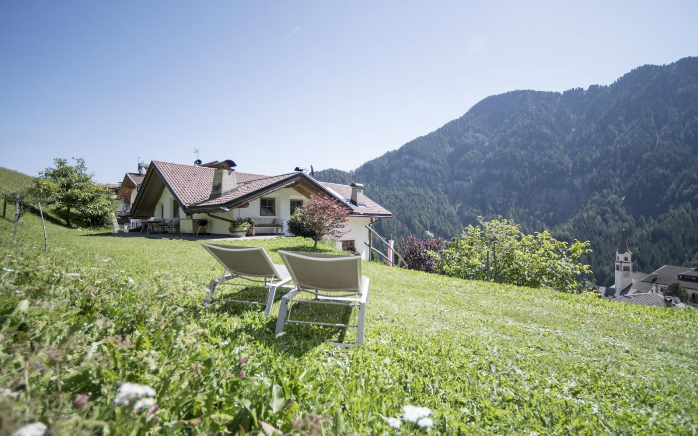 Fresh air and exercise are yours to enjoy, while St. Ulrich, the main town of the Gröden Valley, is close by.